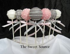 Cake Pops Wedding Cake Pops Made to Order with by TheSweetSource, $22.00