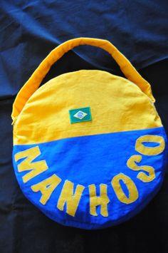 Housse pour pandeiro (instrument de musique pour capoeira)
