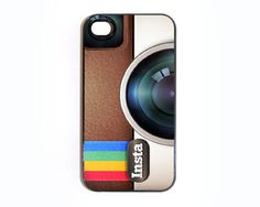 $15 - Apple iPhone 4 4G 4S 3D Printed Matte Case Skin Cover Instagram Design. How fun are these?!