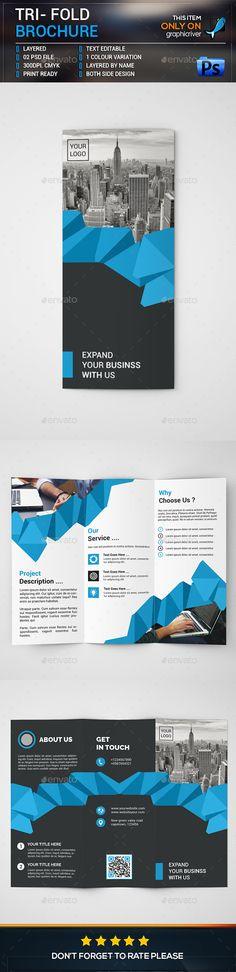 Corporate Trifold Brochure   Design    Brochures