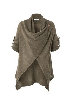 Gilet à pan manches retroussables (not sure what that means, but Yeah! I'm on board! Mode Hippie, Mode Boho, Boho Fashion, Fashion Dresses, Womens Fashion, Fashion Design, Style Casual, Style Me, Vetements Clothing