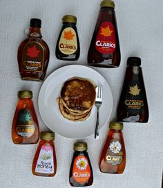 Clarks Pancake Toppers