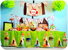 Pirate Fairy themed birthday party via Kara's Party Ideas KarasPartyIdeas.com Printables, cake, cupcakes, favors, games, and more! #fairyparty #tinkerbell #tinkerbellparty #pirateparty (7)