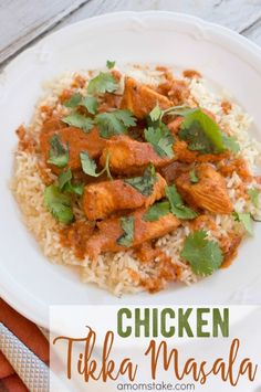 This amazing Indian dish recipe of Chicken Tikka Masala is surprisingly very easy to make! If you love ethnic food, this is quickly going to become your favorite recipe! Easy, healthy, and packed full of flavor.