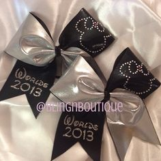 Worlds Cheer Bow