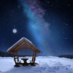 Milky Way, Romania