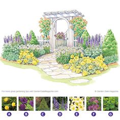 Inviting Arbor plan by Garden Gate eNotes