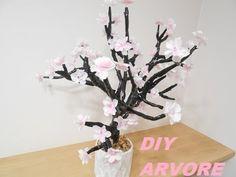 DIY: Árvore com flores de luzes   Imaginariun  Inspired #VEDA 24 by ANGE...