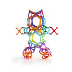 Guidecraft PowerClix® Organics are an open-ended magnetic construction toy with a simple click 'n connect system that allows for…