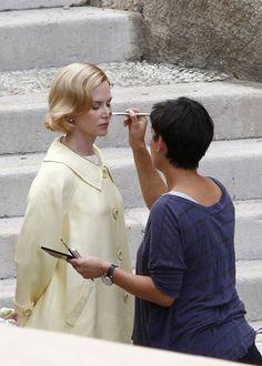 Nicole Kidman Photo - Nicole Kidman Films 'Grace of Monaco'