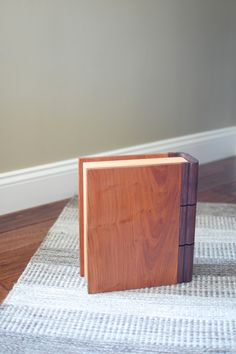 My brother in law wanted a book shaped humidor for his pipe tobacco. It's been a long time coming, but I finally finished the project. Thi...