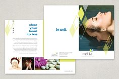 Photography Studio Brochure Template  A Professional Photographer