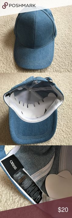 edacb1502595c Asos denim hat cap New never worn ASOS denim cap hat ASOS Accessories Hats