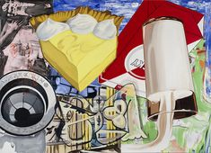 David Salle | Yellow Fellow, 2015