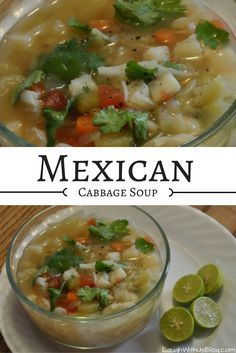 Better DIET soup! Whenever I need to lose a few pounds I make Mexican Cabbage Soup--love it!