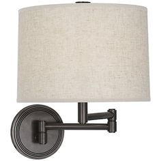 Sofia Swingarm Wall Sconce by Robert Abbey at Lumens.com
