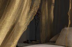 Sogni d'oro!  TINA limited edition - #gold lurex - #zanzariera #baldacchino #oro #Grigolite #canopy
