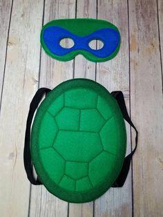 diy ninja turtles kost m jetztmalhalblang blog pinterest schildkr ten schnecke und kost m. Black Bedroom Furniture Sets. Home Design Ideas