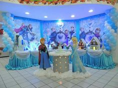 Especial decoración de frozen