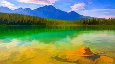 Lanjee Chee - Mountain lake 1