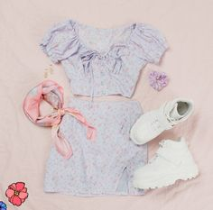 Cute Comfy Outfits, Girly Outfits, Pretty Outfits, Beautiful Outfits, Cool Outfits, Girls Fashion Clothes, Teen Fashion Outfits, Outfits For Teens, Korean Fashion Dress