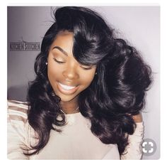 Do you guys like this Beautiful Hair Styles for Black Women? Hairstyles Haircuts, Pretty Hairstyles, Straight Hairstyles, Pixie Haircuts, Black Hairstyles, Natural Weave Hairstyles, Hairstyle Ideas, Fashion Hairstyles, Trending Hairstyles