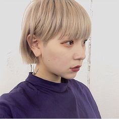 Short Bob Hairstyles, Summer Hairstyles, Medium Bob Cuts, Hair Colour Design, Bob Hair Color, Asian Hair, Hair Designs, Short Hair Styles, Hair Cuts