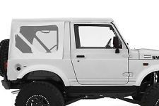 RAMPAGE PRODUCTS 98635 Factory Replacement Soft Top for 1986-1994 Suzuki Samurai Black Diamond w//Tinted Windows