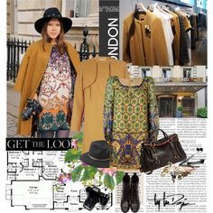 """london street style 2013"" by ffpava on Polyvore"