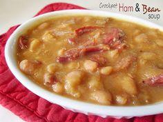 Crockpot Ham & Bean Soup