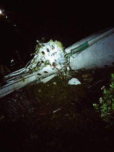 Kolombiya'da Brezilyalı Futbolcuları Taşıyan Uçak Düştü