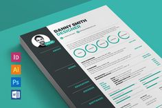 Resume 3 by ikono.me on @creativemarket