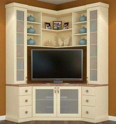 Mueble esquinero para televisor