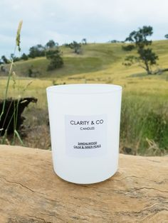 Clarity & Co Candles - Directory - The Make It Collective //  #handmadegifts #melbournehandmade #australianhandmade #madeinmelbourne #madeinaustralia #handmadecandles #handmadehomewares #handmadepresents #handmadegiftideas #soycandles #naturalcandles #scentedcandles #sandalwoodcandles