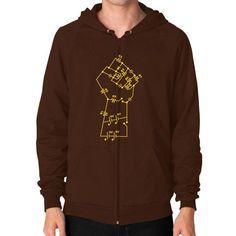 Re Volt Zip Hoodie (on man) Shirt