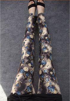 High Quality 16 COLOURS Women's girl's Sport casual High Elastic printed Leggings Fitness 2016 Comfortable leggins pants LG023