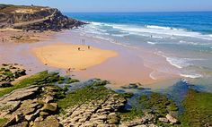 Simply Sintra: magic and mystery on Portugal's Atlantic coast - via The Guardian 02.08.2013   Sintra is often described as a Disneyland for grown-ups, but spend time exploring the surrounding beaches, seafood restaurants and woodlands, and you'll find there's much more to this historic town, writes Isabel Choat... Photo: Praia das macas, Azenhas do Mar