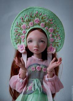 Купить Роза - бледно-розовый, шарнирная кукла, шарнирные куклы, бжд, БЖД кукла