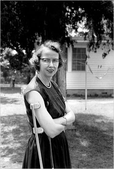 """""""I can, with one eye squinted, take it all as a blessing."""" ― Flannery O'Connor, The Habit of Being"""