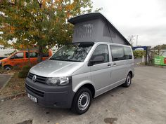 2011 VW T5 Danbury 5 Seat Surf, Silver, 45,000 miles, 2.0TDI, 84PS engine, raising roof, 2 burner hob, grill, fridge freezer, 240v mains hook up, leisure battery. £34,995. Visit www.danburymotorcaravans.com for more info and/or to arrange a viewing or call 01454 310 000.