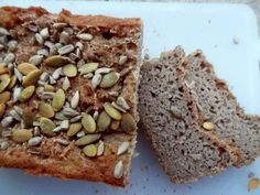 Super Simple, Pan Integral, Paleo, Keto, Rye Bread, Banana Bread, Low Carb, Healthy Recipes, Desserts