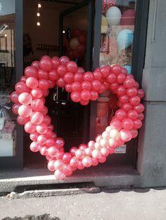 Cuore di palloncini. Il mulino a vento new balloon store