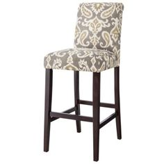 Avington Bar Stool - Ikat from Target ($110 each) Other patterns available.