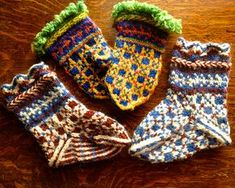 Ravelry: Latvian Mittens and Socks pattern by Martha Marques