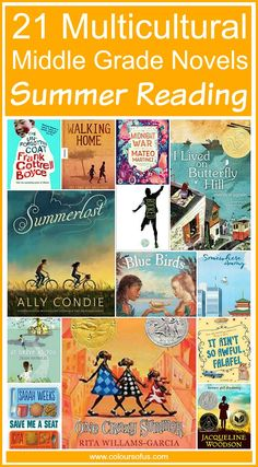 Multicultural Middle Grade Novels for Summer Reading