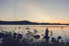 När mörkret sänker sig över Norrbotten