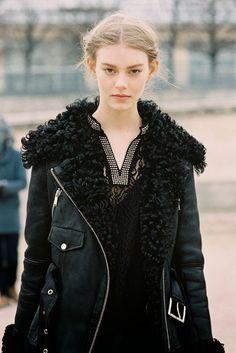 Rock 'n' Roll Style ☆ Paris Fashion Week AW 2013....Ondria