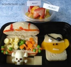 Pirate bento lunch