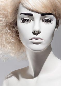 MAGNOLIA Collection - Realistic Female Mannequins by More Mannequins #FemaleMannequin #MannequinMakeUp #nudemakeup