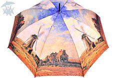 """Stylowy, damski parasol Art Collection Monet """"Wiatrak"""" ParasoleDlaCiebie.pl"""